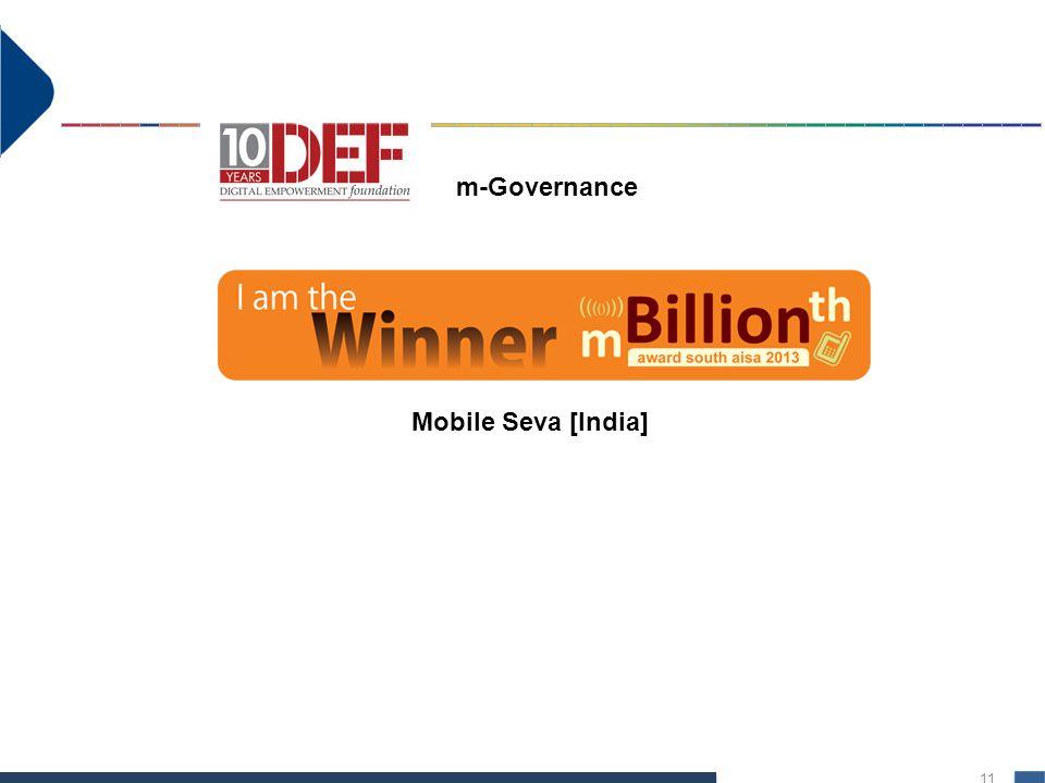 m-Governance Mobile Seva [India]